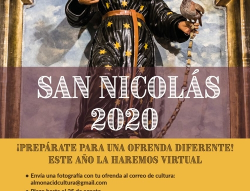 Almonacid honra a San Nicolás de Tolentino de forma virtual