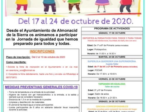 Jornadas de Igualdad en Almonacid de la Sierra